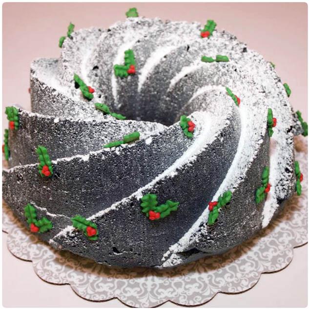 Kerstversiering Tafel: Supersnel Een Chocoladetaart Maken Met Kerst