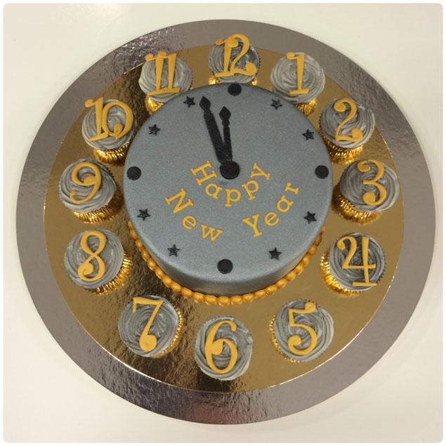 nieuw jaar taart Zelf een oud en nieuw taart maken! nieuw jaar taart