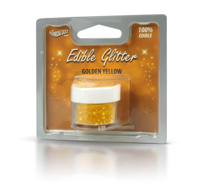 Kleurstoffen decoratieve glitter eetbare glitter geel goud for Eetbaar goud