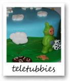 teletubbies taart