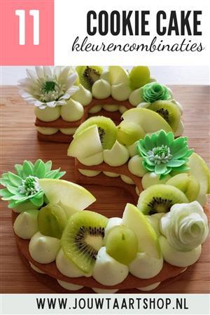 11 voorbeelden van cookie cakes