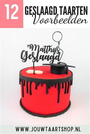 9 voorbeelden geslaagd taarten