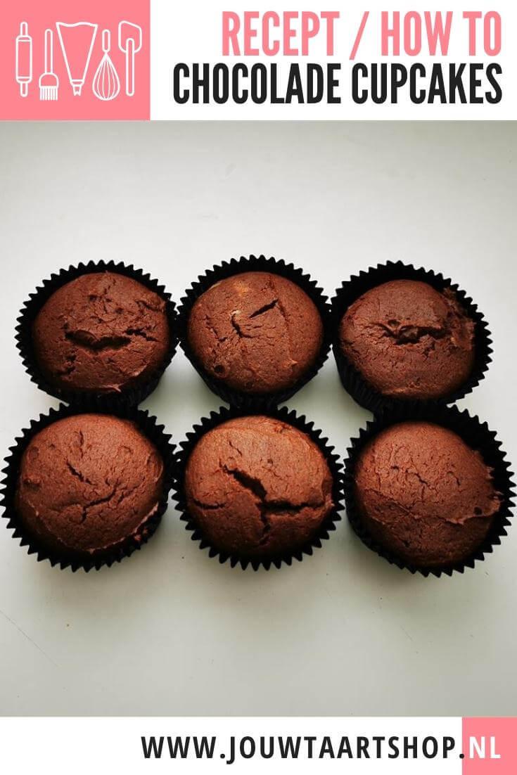 How To: Chocolade cupcakes maken