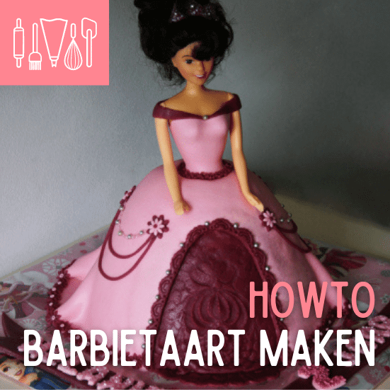 How To Barbietaart maken