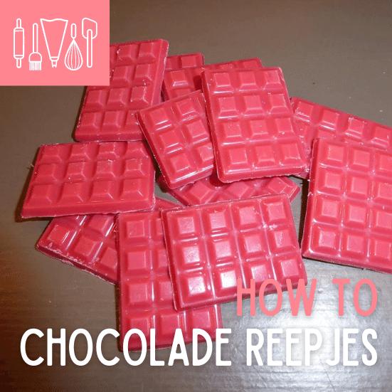 How To: chocolade reepjes maken