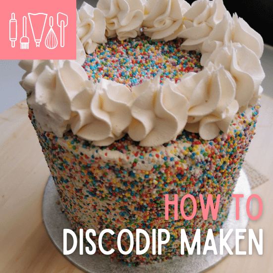 How To: Discodip taart