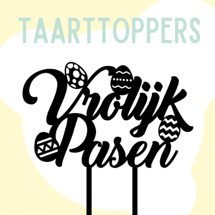 Taarttoppers pasen