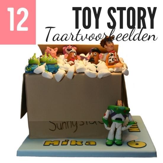 12 voorbeelden Toy Story taarten