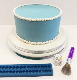 verjaardagstaart fondant maken