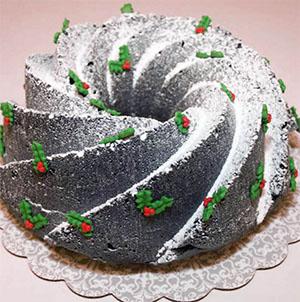 Kerst chocoladetaart