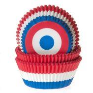 Vlag Nederland - baking cups (50 stuks), fig. 1