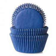 Effen jeans blauw - baking cups (50 st), fig. 1
