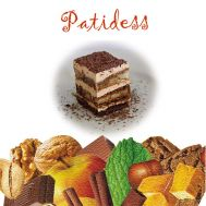 Smaakstof Tiramisu 120 gr - Patidess, fig. 1