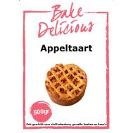 Mix voor Appeltaart 500 gr - Bake Delicious, fig. 1