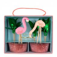 Cupcake kit Flamingo set/24, fig. 1