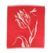 Keukendoek Tulips Red - Bunzlau Castle, fig. 1