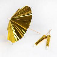 Parasol prikkers Goud set/24 - Meri Meri, fig. 1
