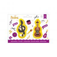 G-sleutel & viool uitsteker set/2 - Decora, fig. 1
