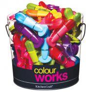Sluitclips met magneet  - Colourworks, fig. 1