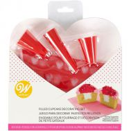 Valentijn cupcake decoratieset set/7 - Wilton, fig. 1