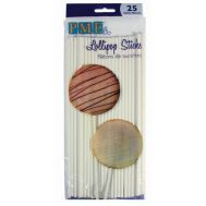 Lolly/cake pop stokjes 20 cm 25 stuks, fig. 1