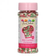 Mini confetti Kerst 60 gr - FunCakes, fig. 1