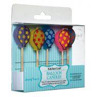 Kaarsjes ballonnen 5 st. - Kitchencraft, fig. 1