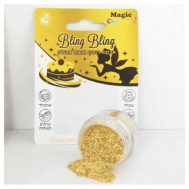 Eetbare glitter goud - Magic Colours, fig. 1
