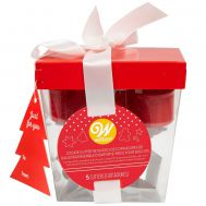 Koekjesuitsteker cadeauset kerst set/5 - Wilton, fig. 1