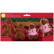 Koekjesuitsteker gingerbread familie set/4 - Wilton, fig. 1