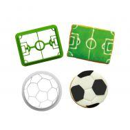 Voetbal uitstekers set/2 - Decora, fig. 1