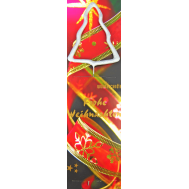 Sterretje Kerst kerstboom zilver - Wondercandle, fig. 1