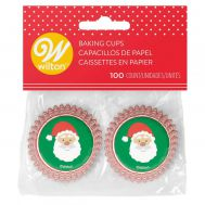 Kerstman mini baking cups (100 st.) - Wilton, fig. 1