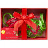 Koekjesuitsteker set/10 kerst - Wilton, fig. 2