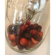 Tafelwater Kers, cranberry & rozemarijn, fig. 1