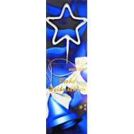 Sterretje Kerst ster zilver - Wondercandle, fig. 1