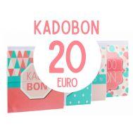 Kadobon 20 euro, fig. 1