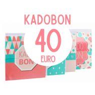 Kadobon 40 euro, fig. 1