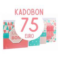 Kadobon 75 euro, fig. 1