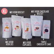 'Cake, Biscuit en Koekjes XL' - 5 bakmixen pakket, fig. 1