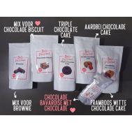 '5 chocolade bakmixen + chocolade bavaroise' pakket, fig. 1