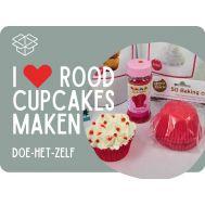I love rood cupcakes - pakket, fig. 1