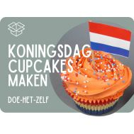 Koningsdag cupcakes pakket, fig. 1