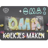 OMA + MAM + MOM koekjes - moederdagpakket, fig. 1