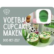 Voetbalcupcakes maken - pakket 1, fig. 1