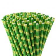 Papieren rietjes bamboo set/12, fig. 2