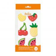 Suikerdecoratie tropisch fruit set/6 - Decora, fig. 2