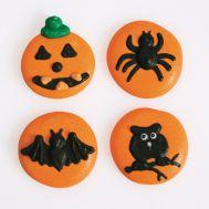 Suikerdecoratie halloween oranje, fig. 2