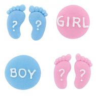 Suikerdecoratie Gender reveal 12 st, fig. 2