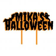 Taarttopper - Voornaam + Halloween, fig. 1